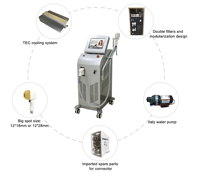 ICE Diode Hair Removel Machine Made In China